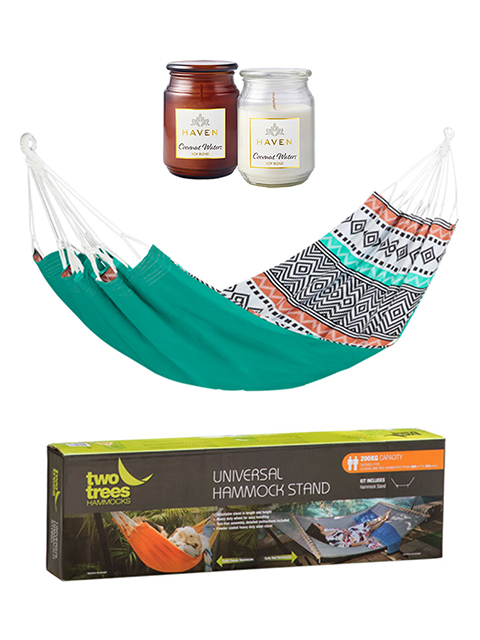 Win a Double Hammock & Candles