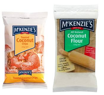 McKenzie's Toasted Coconut Chips and Coconut Flour