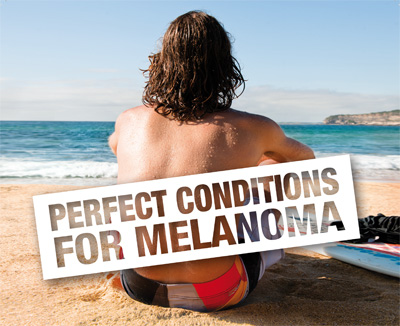 New Melanoma Campaign Hits the Beach