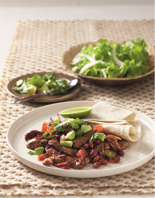 Mexican Bean and Beef Stifry