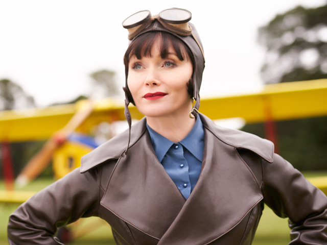 Essie Davis Miss Fisher and the Crypt Of Tears