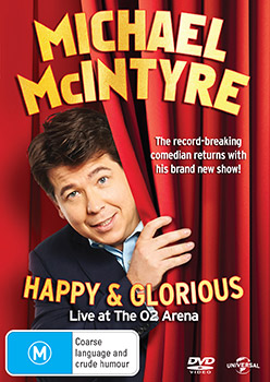 Michael McIntyre: Happy and Glorious DVD