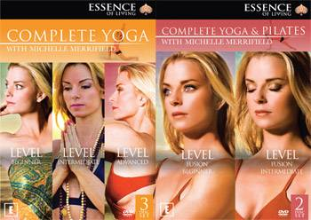 Michelle Merrifield - Yoga Collection and Yoga and Pilates Collection DVD