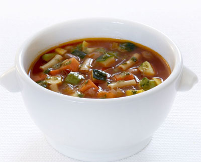 Minestrone Soup & Pumpkin Soup