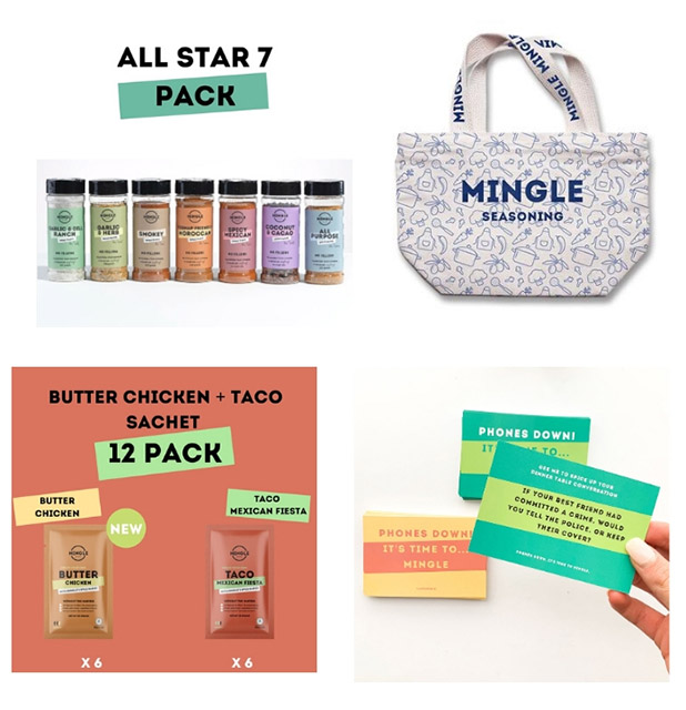 Win a Mingle $150 Pack