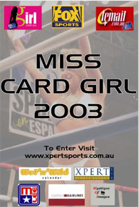 Miss Card Girl 2003