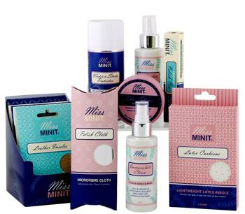 Miss Minit Ultimate Shoe Care Range