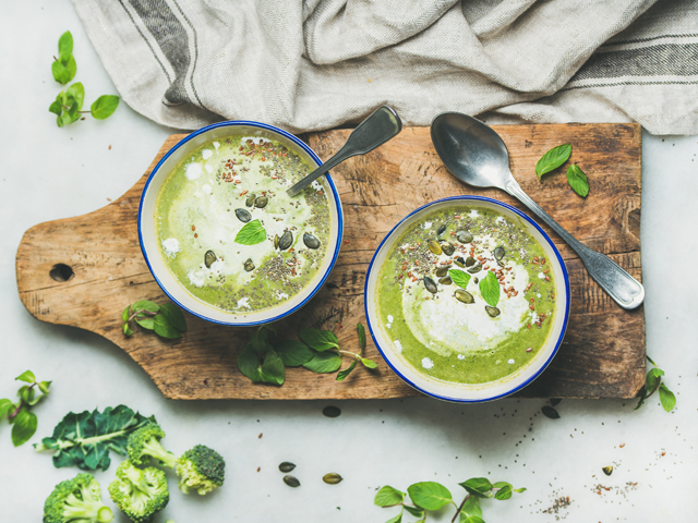 McKenzie's Broccoli and Pea Soup