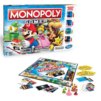 The Monopoly Gamer Edition