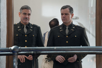 George Clooney and Matt Damon The Monuments Men