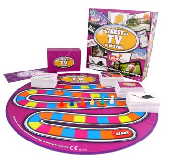 Logo Board Game Best of TV and Movies