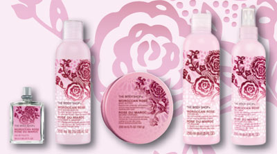 Moroccan Rose Fragrance Collection