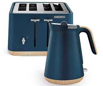 Scandi Aspect Kettle & 4 Slice Toaster