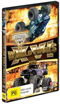 Monster Jam® World Finals XVI DVD