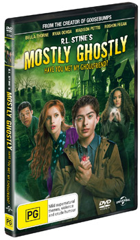 R L Stine S Mostly Ghostly Have You Met My Ghoulfriend Dvds