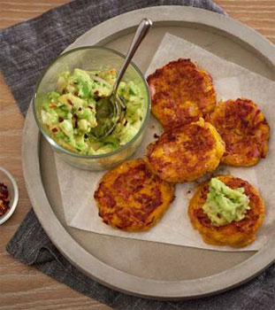 Bacon and Pumpkin Fritters