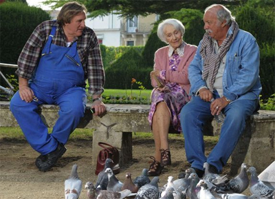 Jean Becker, Gerard Depardieu  Gisele Casadesus My Afternoons With Margueritt