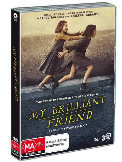 My Brilliant Friend DVDs