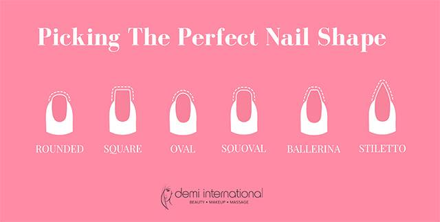 The Essential Nail Shape Guide