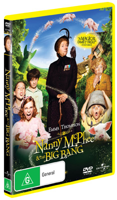 Maggie Gyllenhaal Nanny McPhee & The Big Bang Interview