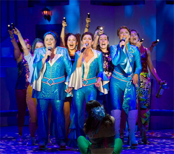 Natalie O'Donnell Mamma Mia! The Musical Interview