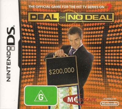 Nintendo DS Deal or No Deal