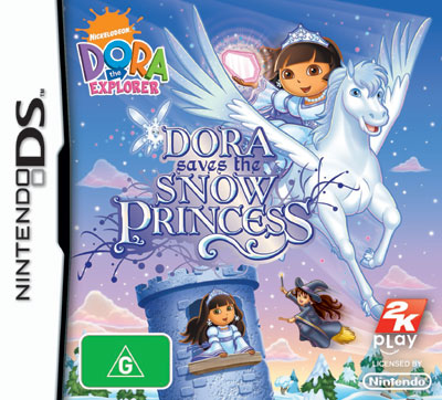 Nintendo DS Dora Saves the Snow Princess