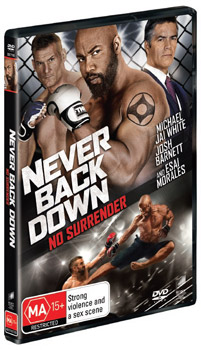 Never Back Down 3: No Surrender DVD