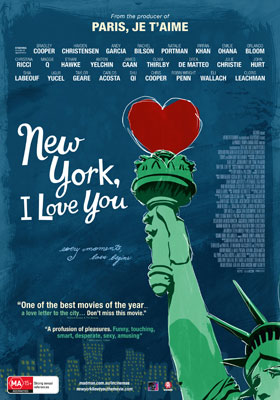 New York, I Love You DVD