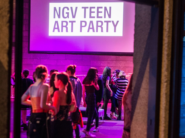 NGV Teens Art Party