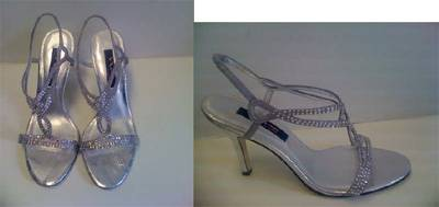 Nina for Novo Walks Down The Aisle Bridal Shoes
