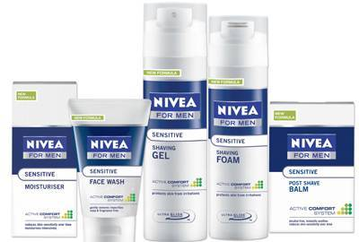 Nivea For Men Sensitive Range Improved