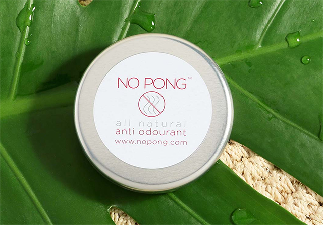 No Pong All-Natural Deodorant Interview