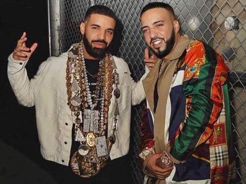 French Montana and Drake, No Stylist