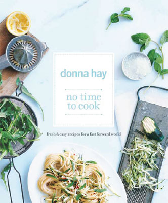 No Time to Cook By Donna Hay & Zucchini Mint Pasta