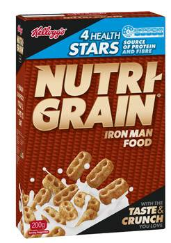 Nutri-Grain 4 Health Stars