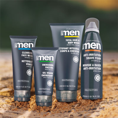 Nutrimetics FOR MEN Skincare Range