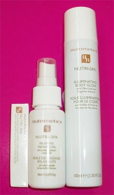 Nutrimetics Nutri Spa Skin Care