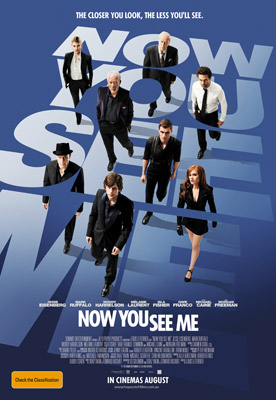 Mark Ruffalo, Woody Harrelson and Isla Fisher Now You See Me
