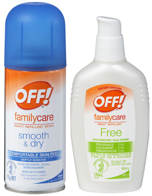 OFF! Smooth & Dry