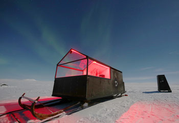 A New Hotel on Skis is Launched in Finland