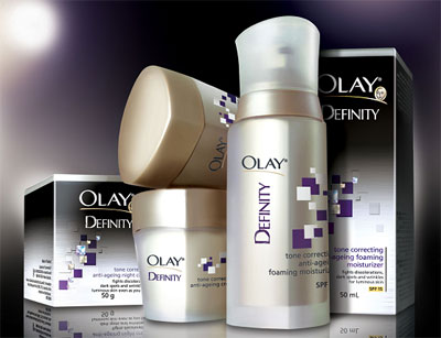 Olay Definity Anti-Ageing Skin Care