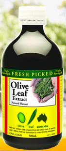Fresh Picked Olive Leaf Extract