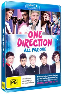 One Direction: All For One DVDs