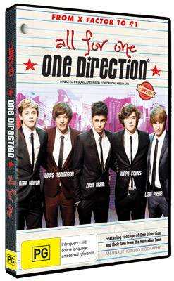 One Direction: All For One DVD
