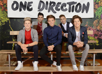 One Direction Wax Figures Arrive at Madame Tussauds Sydney