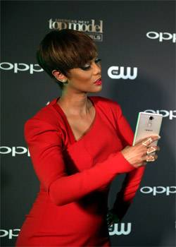 OPPO America's Next Top Model Launch with Tyra Banks