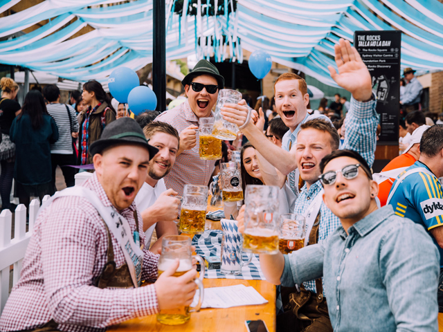 Oktoberfest is coming to Munich Brauhaus and The Bavarian