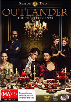 Outlander: Season 2 DVD