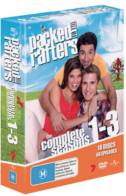 Packed to the Rafters Season 1 - 3 DVD Boxset